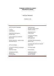 PARTE II - Unione dei Comuni del Pratomagno - LdP Progetti GIS
