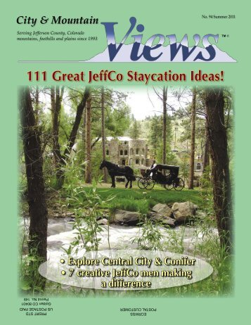 111 Great JeffCo Staycation Ideas! - City & Mountain Views