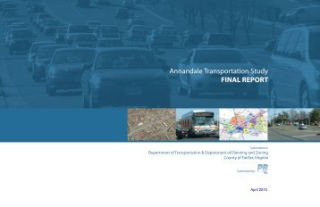 Annandale Transportation Study - Fairfax County Office of ...