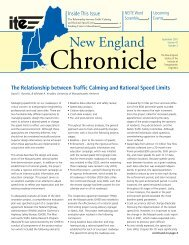 Funding Crisis in Massachusetts - New England Section of ITE