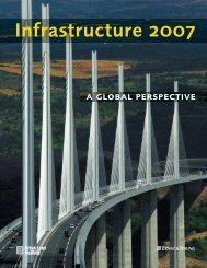 Infrastructure 2007: A Global Perspective - National Surface ...