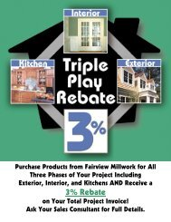 See How You Can Earn a 3% Rebate on Your Home ... - Fairvu.com