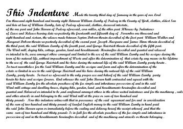 indenture for the use of a Windmill at Pudsey. - Genuki
