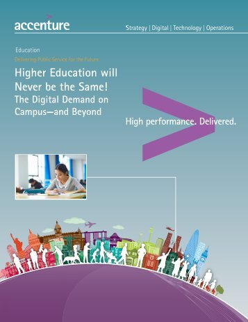 Accenture it blueprint for the everyday bank accenture higher education never be same malvernweather
