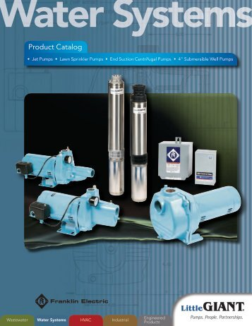 Water Systems - Pumps & Pressure Inc.