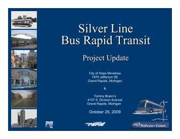 Silver Line Bus Rapid Transit - The Rapid