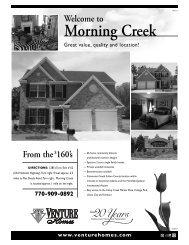 Morning Creek - Venture Homes
