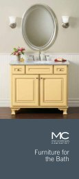 Furniture for the Bath - Mid Continent Cabinetry