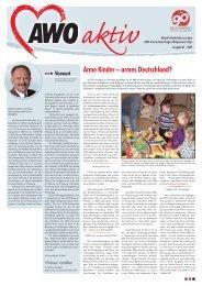 Arme Kinder – armes Deutschland? - AWO Kreisverband Siegen ...