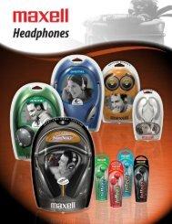 Headphones - Maxell Canada