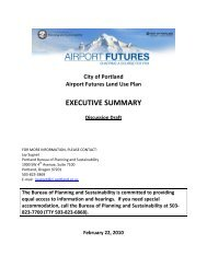 EXECUTIVE SUMMARY - PDX Airport Futures