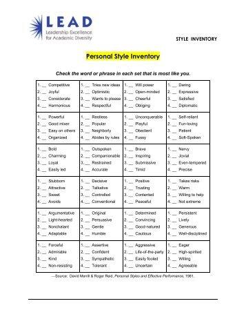 communication styles pncwa