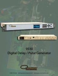 Quantum Composer 9530 Series Pulse Generator