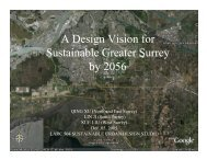 Greater Surrey - Sustainability by Design