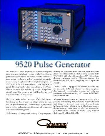 9520 Pulse Generator