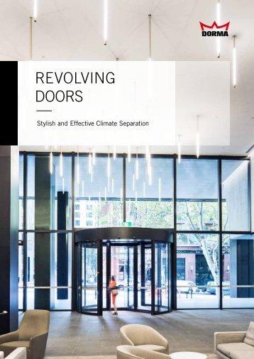 REVOLVING DOORSs —