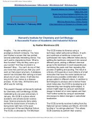 February 2000 - Division of Medical Sciences Bulletin - Harvard ...