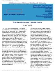 January 2001 - Division of Medical Sciences Bulletin - Harvard ...