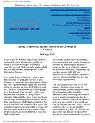 May 2001 - Division of Medical Sciences Bulletin - Harvard University