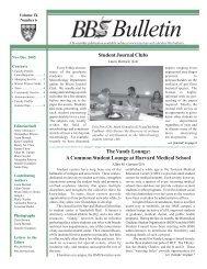 BBS Bulletin Nov.-Dec.2005 - Division of Medical Sciences Bulletin