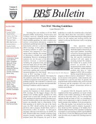 November/December 2006 - Division of Medical Sciences Bulletin