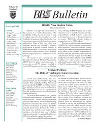 March/April 2005 - Division of Medical Sciences Bulletin