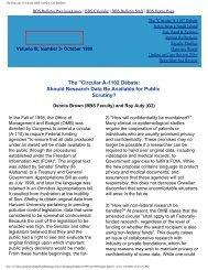 The Harvard University BBS website: Oct Bulletin - Division of ...