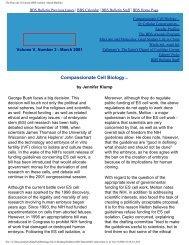 March 2001 - Division of Medical Sciences Bulletin - Harvard ...