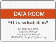 DATA ROOM presentation 12-1-10 PDF - Learning Achievement ...