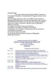El Comité de Desarrollo Profesional Médico Continuo de la ...