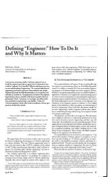 "Defining ""Engineer:"" How To Do It and Why It Matters, M. Davis ..."