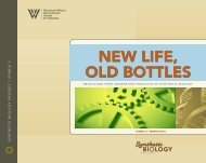 new life, old bottles new life, old bottles - Synthetic Biology Project
