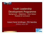 Youth Leadership Development Programme - Friedrich Ebert ...