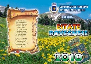 Estate Bovegnese 2010 - Comune di Bovegno