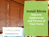 Buy Blinds Online - Super Blinds Mart in Australia