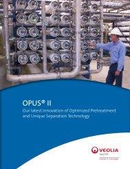 OPUS® II - Veolia Water Solutions & Technologies