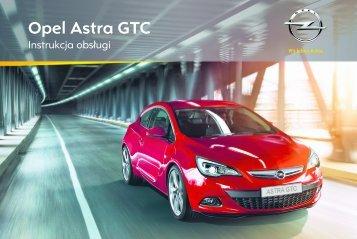 Opel Astra GTC 2012 – Instrukcja obsługi – Opel Polska