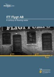 ITT Flygt AB - Water Solutions