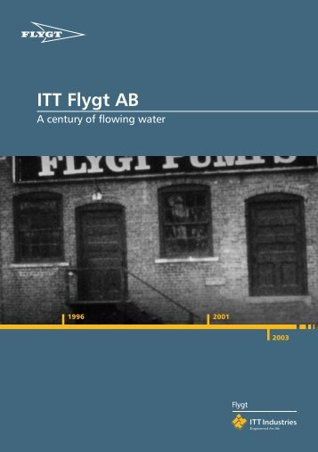 ITT Flygt AB - Water Solutions