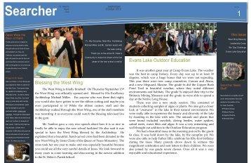 September/October 2012 Issue - St. Helen's Elementary School