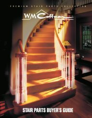 Stair Parts Catalog - United Builders Supply