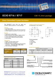 OCXO 8863 Double oven controlled 19mm (075