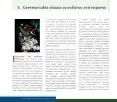 5. Communicable disease surveillance and response