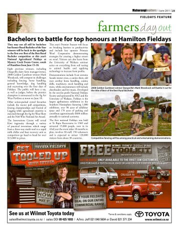 Fieldays Feature - Local Matters Newspapers