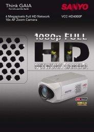 VCC-HD4 Series.. - Provision-cctv.com