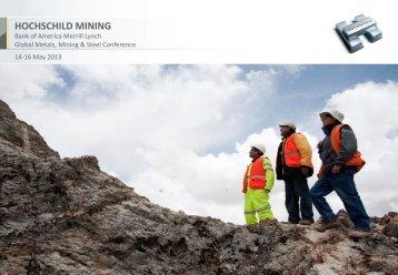 PDF (2936KB) - Hochschild Mining plc