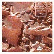 informe de gestión 2009 y desafíos 2010 - Comisión Chilena del ...