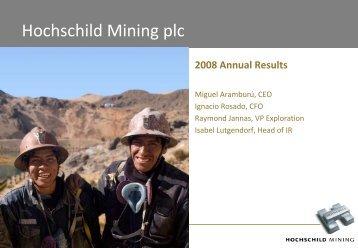 PDF (1012KB) - Hochschild Mining plc