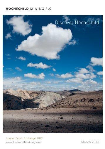 ompany factsheet - Hochschild Mining plc
