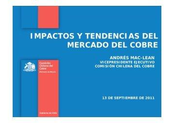 impactos y tendencias del mercado del cobre co co - Comisión ...